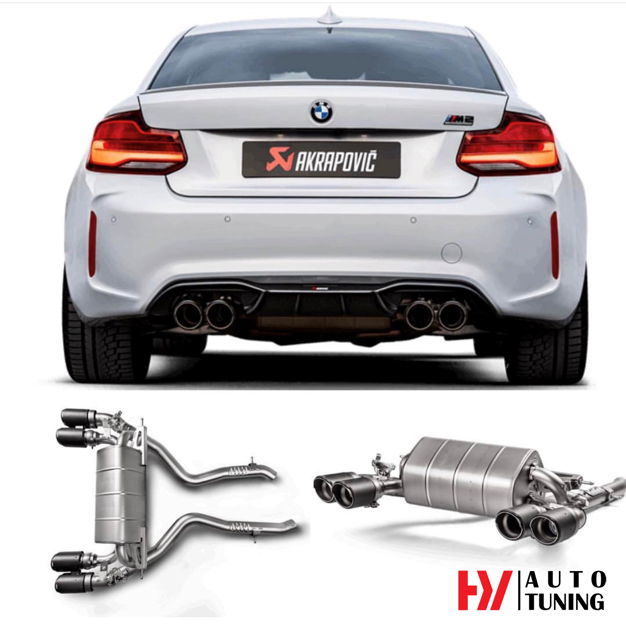Akrapovic Exhaust System For BMW M2